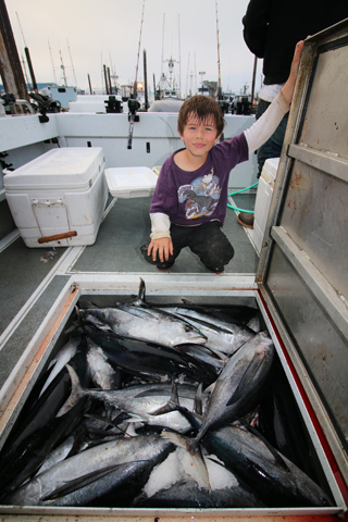 Washington State Tuna Fishing