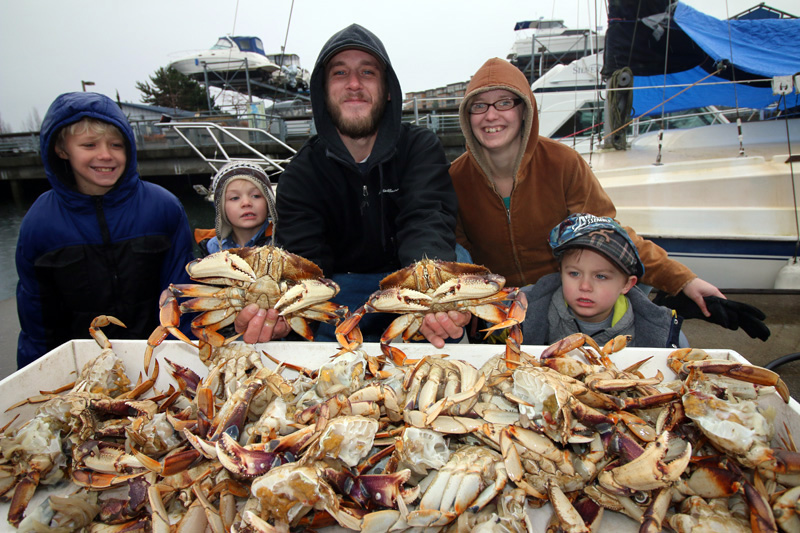 Seattle Fishing Charters Crab