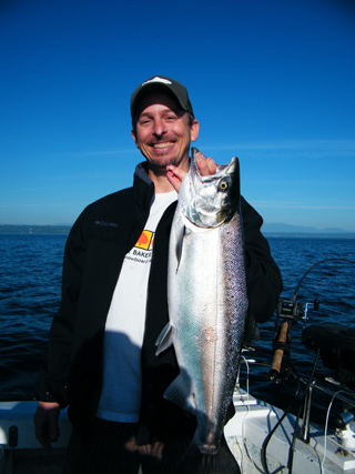 Seattle Coho Fishing