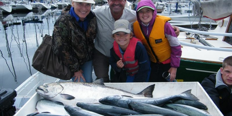 Seattle salmon season and dungeness crabbing starts july 1st for Seattle fishing guides